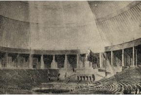Архив: Корнфельд Я. Интерьеры Дворца Советов. 1938
