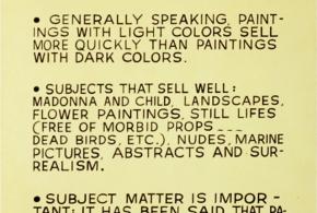 фото полезных советов художникам, Джон Балдессари
