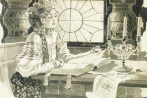 Образы уходящей эпохи: девушки, читающие бумажные книги