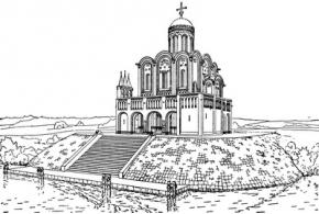 Средневековая владимиро-суздальская архитектура
