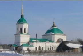Церковь Спаса (Свято-Никольский храм), село Данилово, Киясовский район Удмуртской Республики
