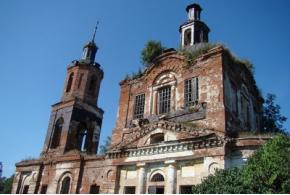 Георгиевская церковь. Деревня Кулюшево, Каракулинский район Удмуртской Республики