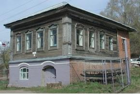 Жилой дом купца Вахрушева, село Каракулино, Каракулинский район Удмуртской Республики
