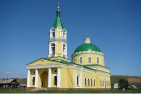 Рождественско-Богородицкая церковь. Село Колесниково, Каракулинский район Удмуртской Республики