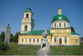 Вознесенская церковь. Село Галаново, Каракулинский район Удмуртской Республики