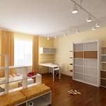 Квартира в современном минималистическом стиле. Детская для мальчика.