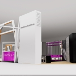 Дизайн выставочной площадки для компании «Найди». Ижевск