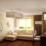 Дизайн квартиры, гостиная. Ижевск