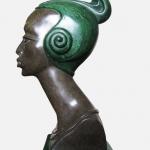 Негритянка. Интерьерная скульптура.