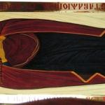 Плащаница Божией Матери, размер: 45x130 см. Ламинат.