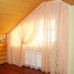 Текстильное оформление спальной комнаты.