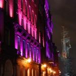 Москва. Комплекс «Красный Октябрь». Архитектурно-художественное освещение