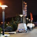 Москва, МКАД, автосалон. Светильники «Солярис 5»