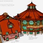 "Проект гостевого комплекса ресторана ""Тангыра""."