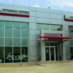 Автосалон Mitsubishi в Ижевске. Профильная система «Татпроф», остекление: энергосберегающий стеклопакет 32 мм.