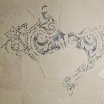 Ночной клуб «Сальвадор», Ижевск. Фактурное покрытие Рельеф Абстракт («Мраморикс»), художественная работа