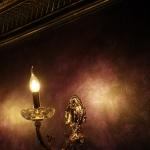 Ночной клуб «Сальвадор», Ижевск. Декоративная штукатурка Klondike (Valpaint)