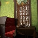Ресторан «Старая башня», Сарапул. Покрытие Sabulador (Valpaint). Эффект песка с внутренним свечением