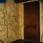 Декоративные рельефы паба