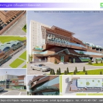 Архитектурная студия «ДГ ПРОЕКТ». Проект реконструкции фасадов развлекательного комплекса «Шпилька». Москва