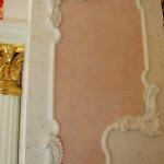 Настенный багет в стиле барокко-роккоко. Магазин «Рубин», Ижевск.