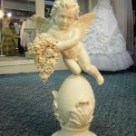 Купидон в стиле барокко. Свадебный салон «Белая легенда», Ижевск.