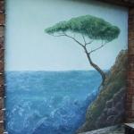 Объект № 8. 3D роспись. Фрагмент стены.