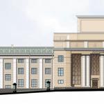 Реконструкция фасада ДК «Ижмаш» под «Русский драматический театр», Ижевск