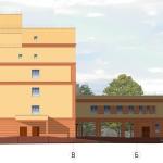 Проект республиканской клинической туберкулёзной больницы, Ижевск. Архитектор Денис Зайцев