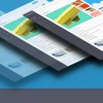 Aystex. Разработка логотипа и дизайн сайта для доски бесплатных объявлений.
