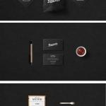 Bruscetto. Разработка логотипа кафе-пекарни.