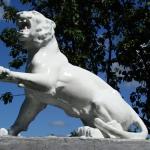 Тигр. Уличная кульптура.