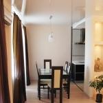 Квартира 3-комнатная. В современном минималистическом стиле.Столовая.