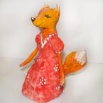 Ёлочная игрушка — лисичка.