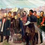 Эскиз-панно « М.И. Кутузов на Бородинском поле 1812 года», двп, акрил, гуашь. Размер — 1,52x0, 52.