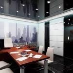 Кабинет руководителя строительной компании