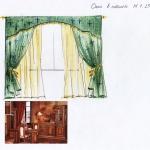 Эскиз дизайн окна в кабинете