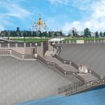 Проект Красной площади, Сарапул. Архитектор: Вера Кузнецова