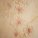 Декоративно-художественная роспись стен. Сакура