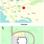 Архитектурное бюро MADE GROUP. Храм Святого Луки в Греции. Генплан