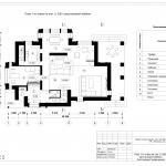 Архитектурное бюро MADE GROUP. Жилой дом в городе Воткинске. План 1-го этажа