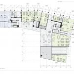 Архитектурное бюро MADE GROUP. Жилой комплекс «Пять континентов» в Октябрьском районе Ижевска. План 1-го этажа