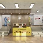 Архитектурное бюро MADE GROUP. Жилой дом «Смуглянка» на улице Баранова в Ижевске. Интерьер