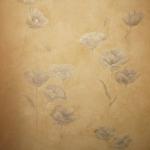Декоративно-художественная роспись стен. Маки