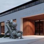 Проект многофункционального спортивного комплекса «Поддубный-Арена» в Ейске. Архитектурная студия «Чадо»