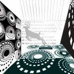 Олень в печатном пространстве