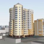 Проект 14-этажного жилого дома №1 в мкр. «Дружба» в Новом Уренгое