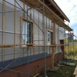 Строительство дома в п. Старое Михайловское Завьяловского района Удмуртии, ул. Ольховская