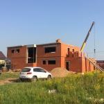 Строительство дома в п. Старое Михайловское Завьяловского района Удмуртии, ул. Звездная
