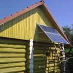 Солнечная электростанция 1,5 кВт. Тольятти